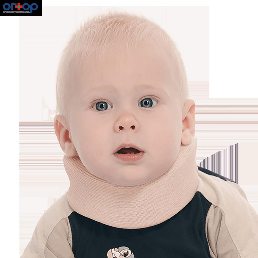 Бандаж для шейного отдела позвоночника для детей 8 см