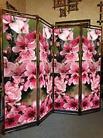 """Ширма """"Цветы сакуры """" 170х200см."""