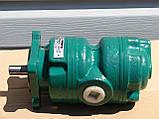Насос пластинчатый (лопастной) двухпоточный 12БГ12-23М (габарит 1+1), фото 2
