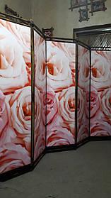 """Ширма """"Букет роз"""" 170х250см."""