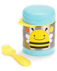 Термос для еды Skip Hop Пчела со столовым прибором 325 мл