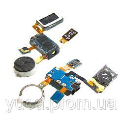 Динамик спикер для SAMSUNG i9100 спикер в комплекте с разьемом наушников, микрофоном, вибромотором на шлейфе оригинал
