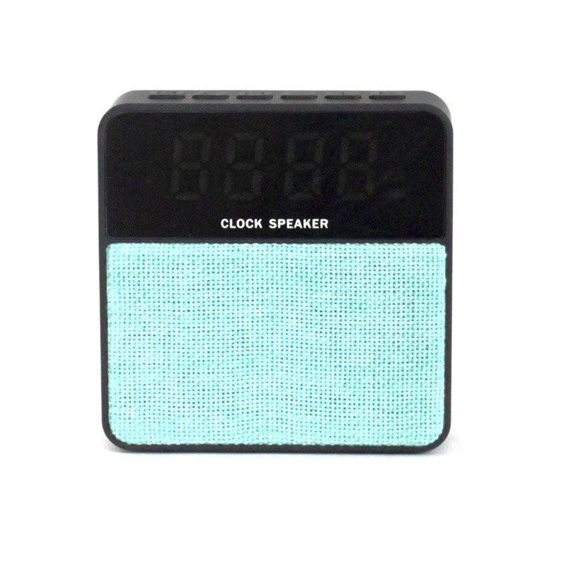 Колонка mini speaker JBL T1 bluetooth black + часы