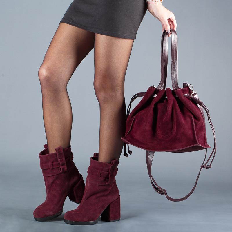 Супер модные женские ботинки на каблуке . Утеплитель на выбор. Каблук 9 см. Цвет любой