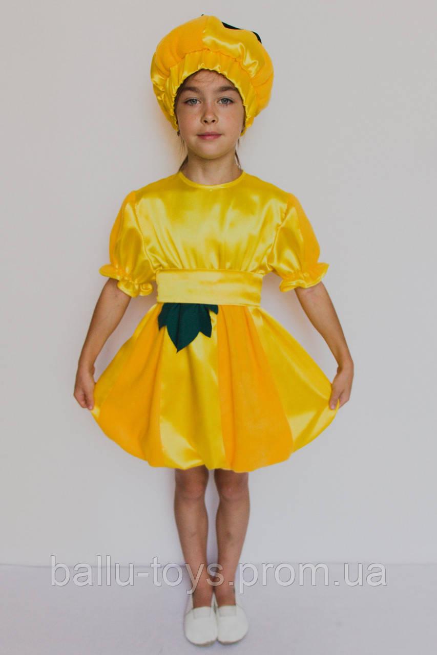 Маскарадный костюм на девочку Тыква (2-6 лет)