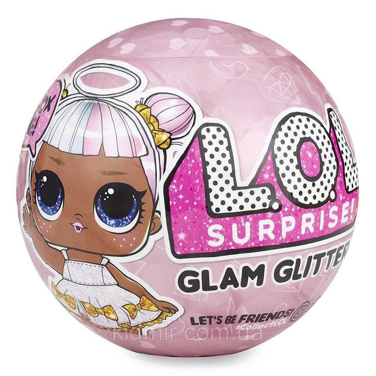 Кукла-сюрприз Лол Глэм Глиттер 4 серия L.O.L. lol Surprise! Glam Glitter S 4