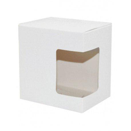 Упаковка для чашки картон ( с окошком)