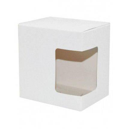 Упаковка для чашки картон ( с окошком), фото 2