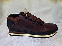 Мужские кроссовки New balance 754 коричневые кожа