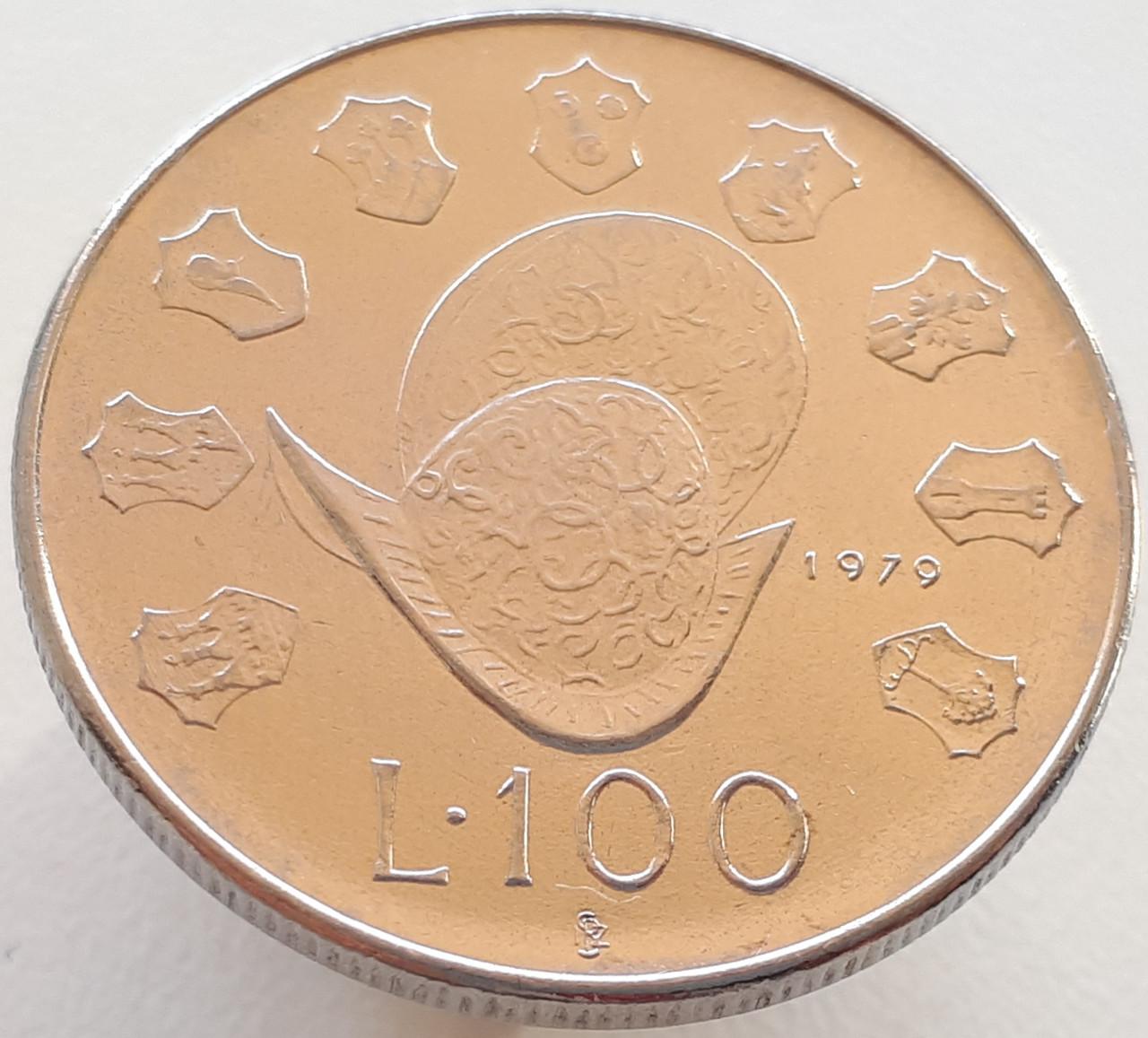 Сан-Марино 100 лир 1979