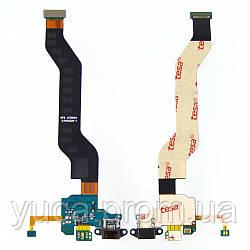 Шлейф для XIAOMI Mi Note с разъёмом micro-USB, микрофоном и компонентами на плате