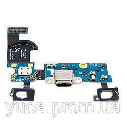 Шлейф для SAMSUNG G800F Galaxy S5 mini с разъемом micro-USB на плате, микрофоном и сенсорными кнопками