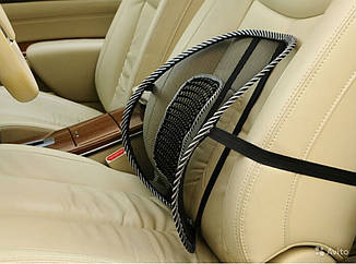 Корректор поясничного отдела Офис Комфорт - эргономичная подставка для спины,накладка на кресло в офис и авто