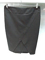 Классическая красивая юбка с камнями
