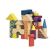 Деревянные кубики - Еловый домик