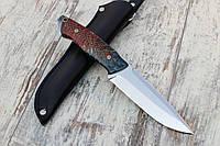 """Нож ручной работы """"Сосновый"""" из нержавеющей стали n690"""