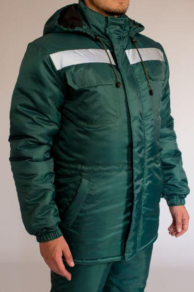 Куртка утепленная Эксперт зеленая