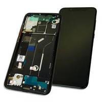 Дисплей Xiaomi Mi8 с тачскрином и рамкой черный Оригинал