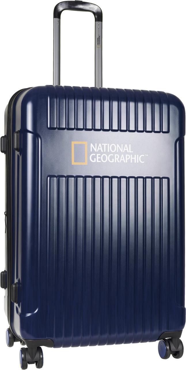 Чемодан National Geographic Transit N115HA.71;49 синий большой
