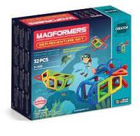 Магнитный конструктор Magformers Путешествие к морским глубинам, 32 эл. (703012), фото 1