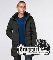 "Подросток 13-17 лет | Зимняя куртка Braggart ""Teenager"" 25200 темно-зеленая, фото 1"