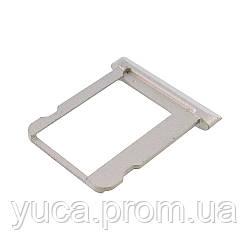 Держатель для SIM карты для APPLE iPad 3 серебристый