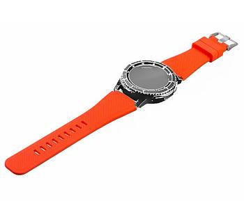 Силіконовий ремінець для годинника Samsung Galaxy Watch 46 mm SM-R800 - Orange