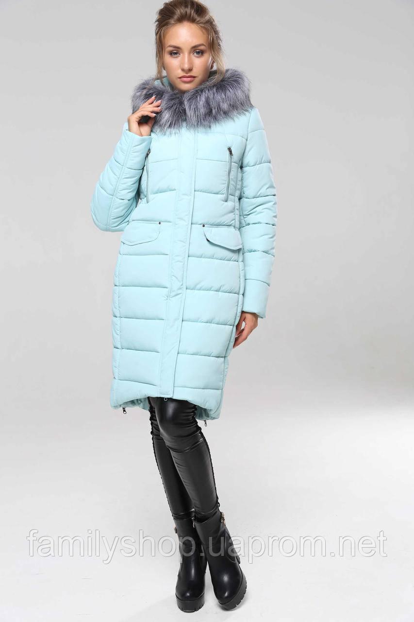 8e5f48c7fe0 Зимнее женское пальто с капюшоном Кэт Нью Вери (Nui Very) - Интернет-магазин