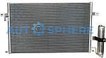 Радиатор кондиционера Chevrolet Lacetti Koreastar
