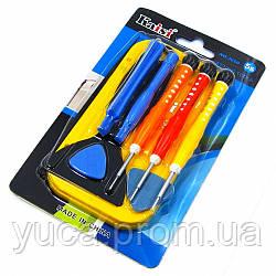 Набор инструментов KAISI 3690 для разборки IPhone 5S (3 отвёртки, 4 шпателька, 2 медиатора, подставка для винтов iPhone 5S)