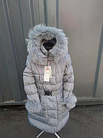 Пальто девочка холодная зима , размеры от 128-146 см,2 расцветки, фото 1