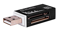 USB кардридер MS M2 MMC MEMORY PRO DUO SD #100011