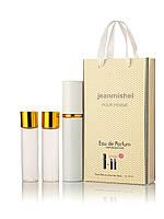 3 по 15 мл Мини-парфюм Jeanmishel Lacoste Pour Femme (ж) 53 точка