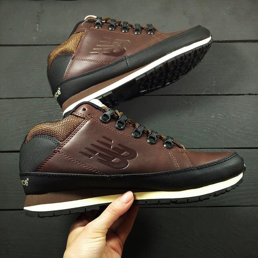 Кросівки New Balance 754 Brown Leather