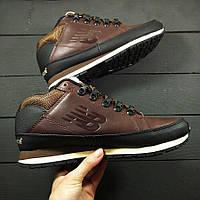 Кросівки New Balance 754 Brown Leather, фото 1