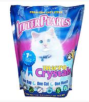 Наполнитель Litter Pearls Микро Кристаллс (MC) кварцевый для кошек 1.59 кг