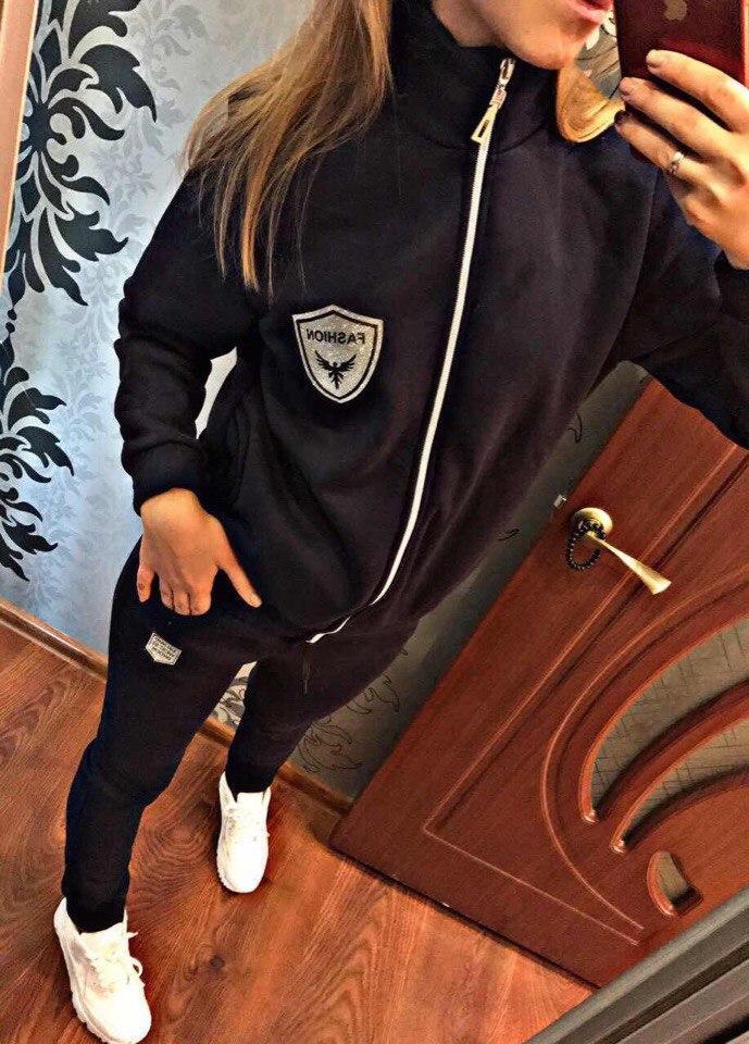 f58c8dff Женский спортивный костюм флис теплый осенний Женская одежда недорого -  Lider - интернет магазин модной одежды