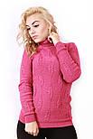 Вязаный свитер-гольф 42-48, фото 4