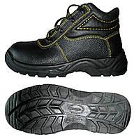 Ботинки юфтевые с мягкой вставкой (утепленные)