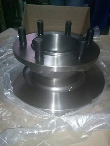 Диск тормозной передний E2 IVECO 960050 Techno Brake (42470842), фото 2