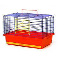 """Клетка для грызунов """"Кролик мини """" 470*300*300 мм  разные цвета"""
