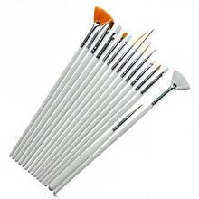 Набор кистей для дизайна и рисования ногтей 15 шт. #2