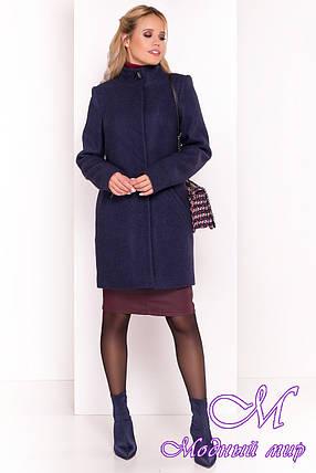 Пальто прямое женское осень весна (р. S, M, L) арт. Люцея 5368 - 37631, фото 2