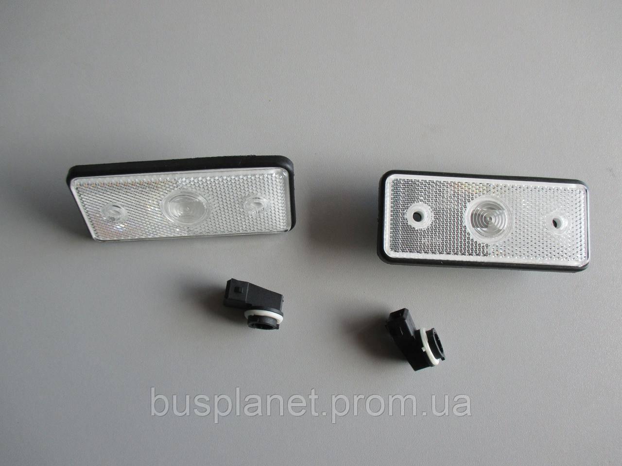 Габариты по кузову (боковые) (белые) Mercedes Sprinter CDI