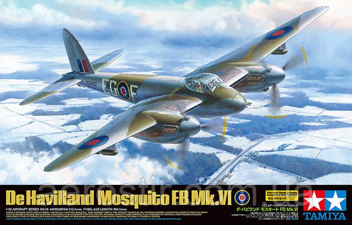 De Havilland Mosquito FB Mk.VI 1/32 Tamiya 60326