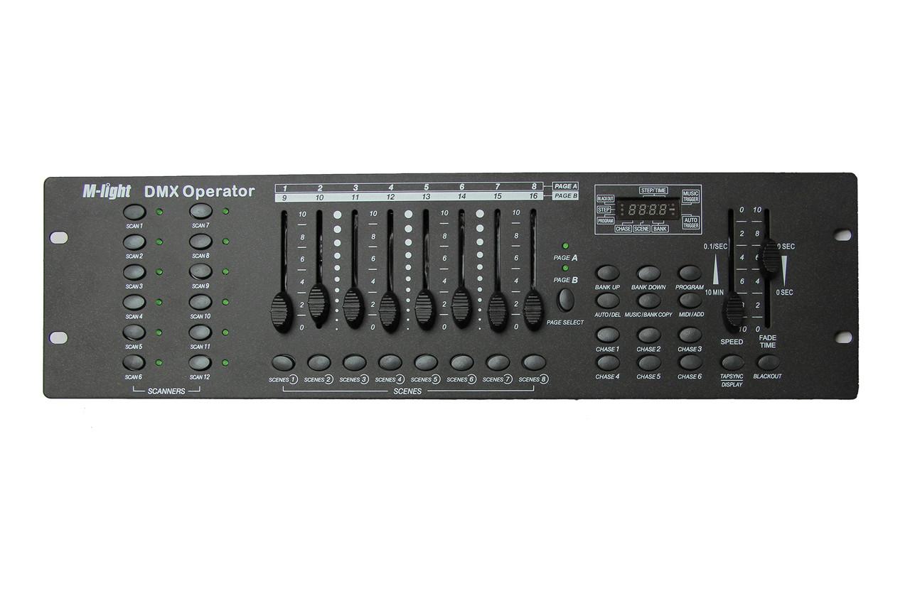 Световой пульт M-Light DMX Operator 192