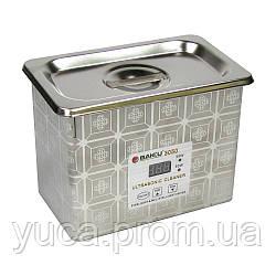 Ультразвуковая  ванна BAKU BK3050 в металлическом корпусе (двухрежимная 30W/50W, 0.7L)
