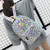 Голограммный рюкзак Геометрія, фото 8
