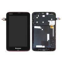 Дисплей с сенсорным экраном Lenovo IdeaTab A1000 BLACK FRAME ORIG