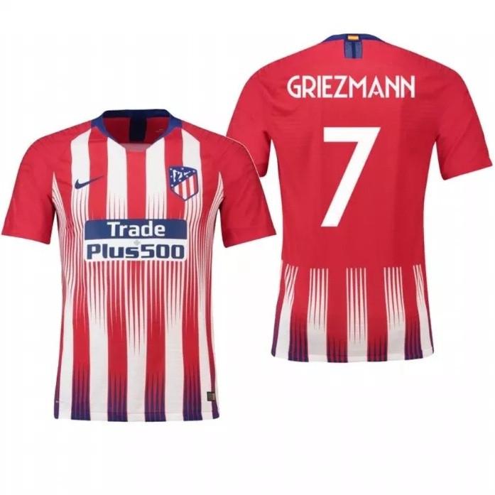 Футбольная форма детская  Атлетико Мадрид Griezmann (Гризманн) красная (сезон 2018-2019)
